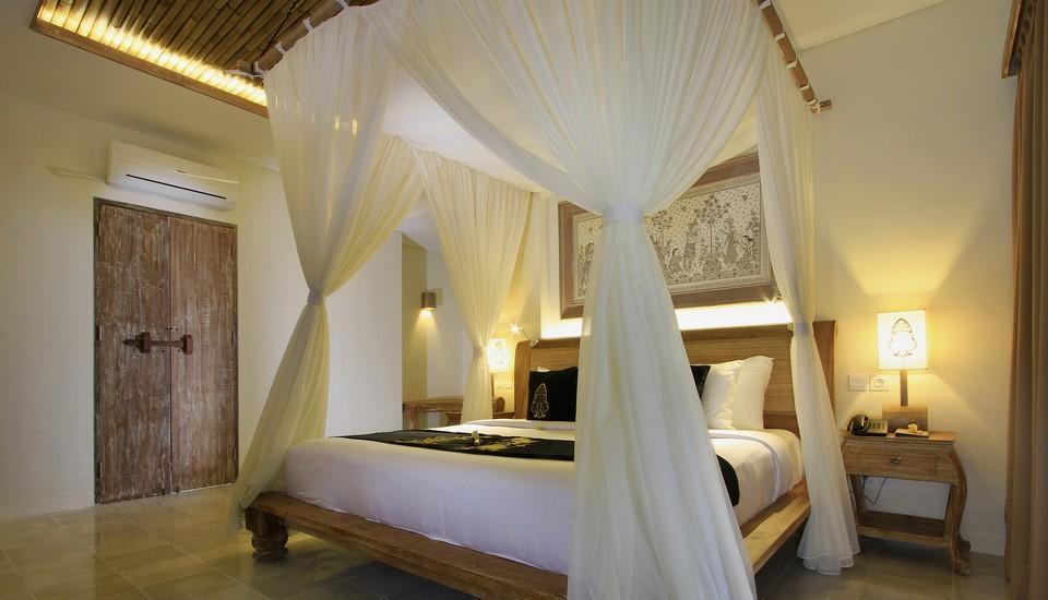 The Kayon Resort Bali - Kamar tidur