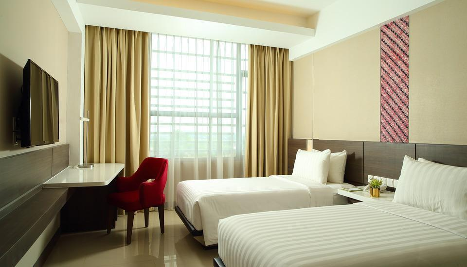 Hotel Santika Premiere ICE BSD City - Deluxe Room Twin Special Promo Regular Plan