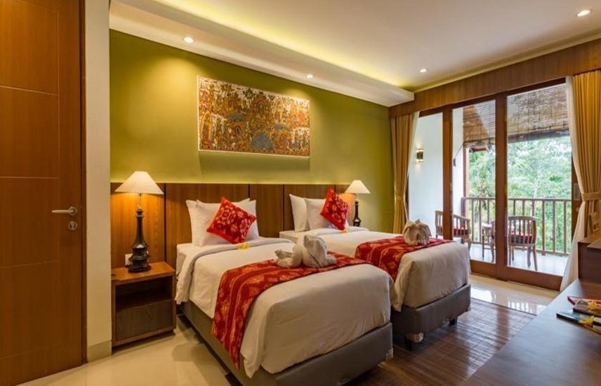 River Sakti Resort Bali - Kamar tamu