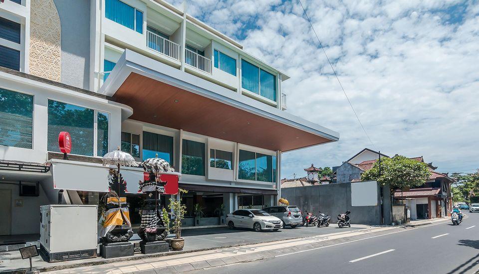 ZenRooms Sriwijaya Legian Kuta Bali - Tampak luar