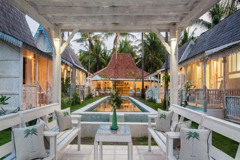 Palmeto Village Lombok - Ruang tamu