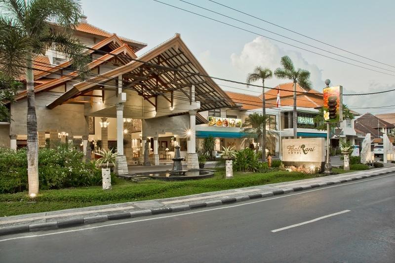 Bali Rani Hotel Bali - Tampak depan hotel