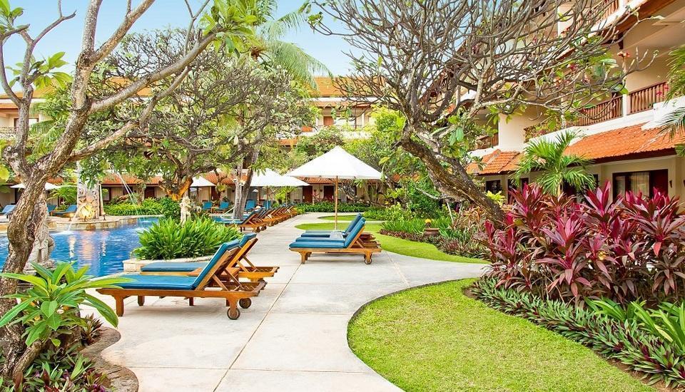 Bali Rani Hotel Bali - Kolam renang area
