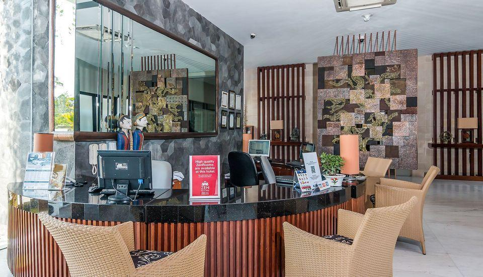 ZEN Premium Uluwatu Complex Bali - Resepsionis