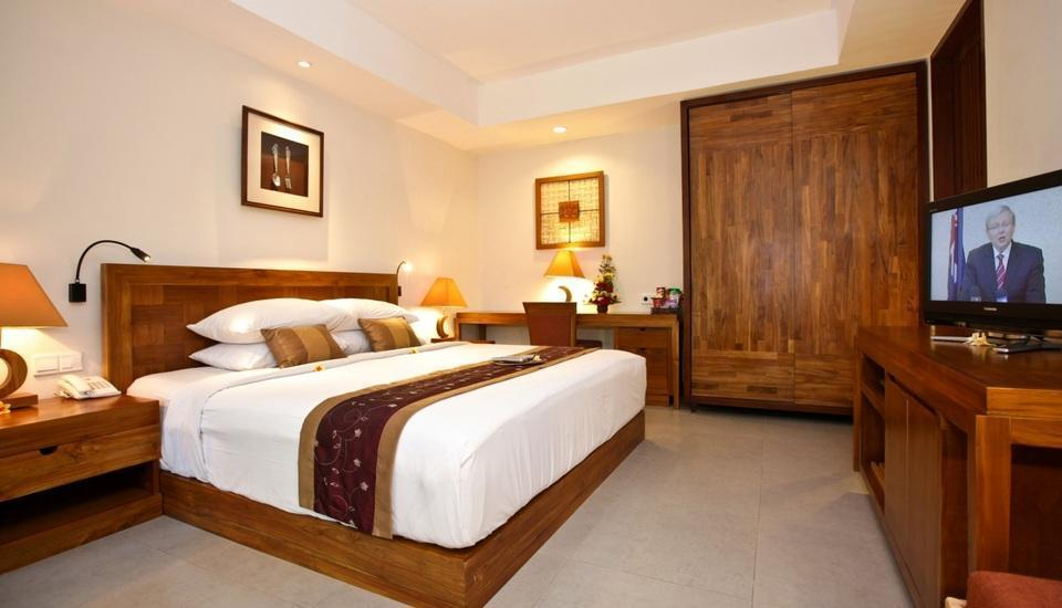 Rama Garden Hotel Bali - Deluxe Studio Pool Access Room Only (Double/Twin) 1st Floor Special Promo 50% OFF