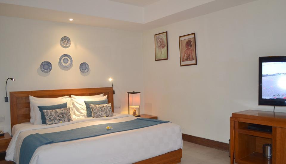 Rama Garden Hotel Bali - Deluxe Studio Second Floor with Breakfast (Double/Twin) End Year Sale