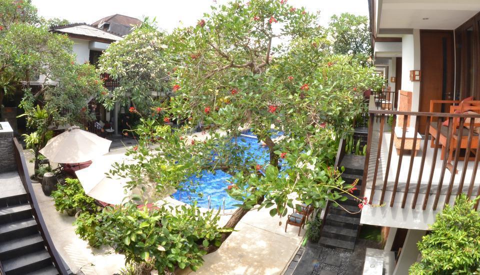 Rama Garden Hotel Bali - Pemandangan Kolam