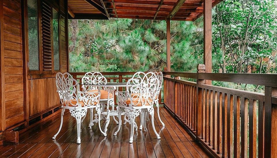 Kastuba Resort Bandung - Suite Balcony