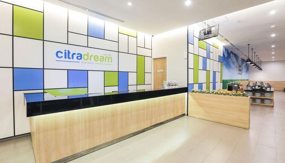 Hotel Citradream Bintaro - Resepsionis