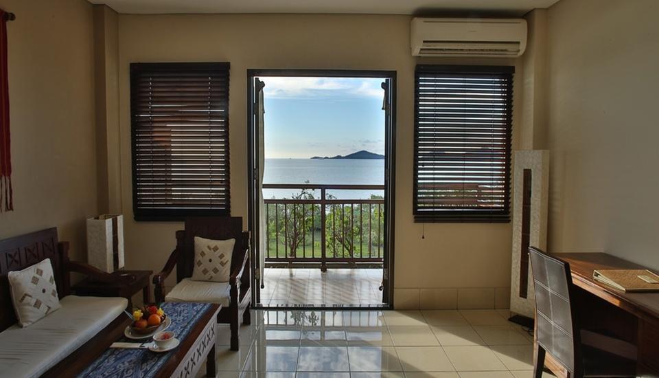 The Jayakarta Suites Komodo Flores - Kamar Jayakarta Suite dengan Balkoni Pribadi