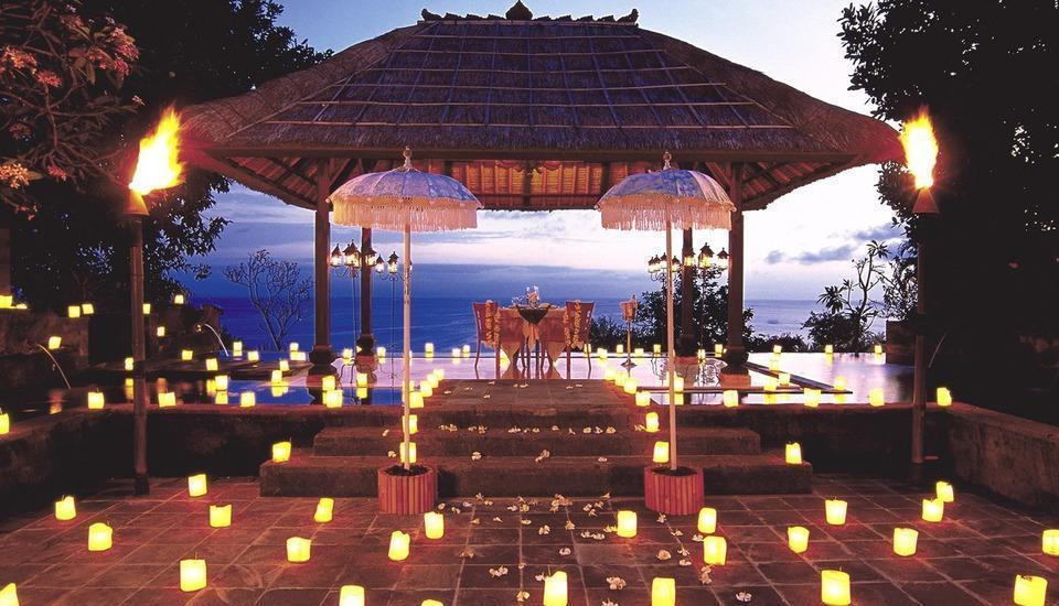 The Villas at AYANA Resort, BALI - Romantic Dinner