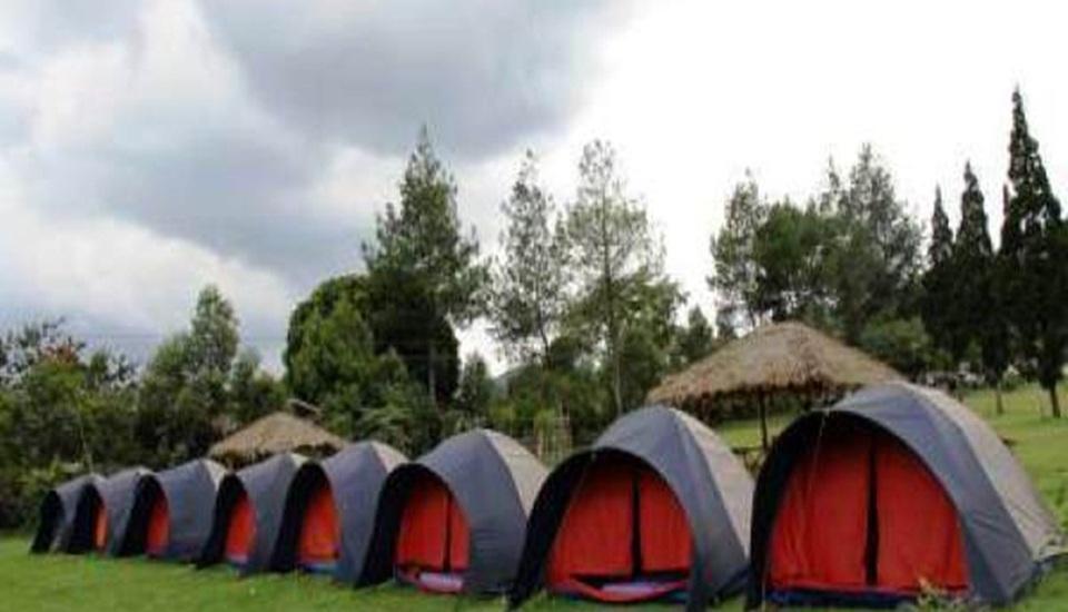 Avina Lembang Bandung - Camping area