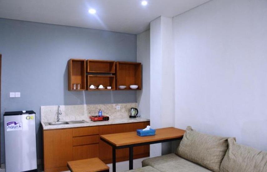 Dejabu Studio &Suites Bali - Dapur