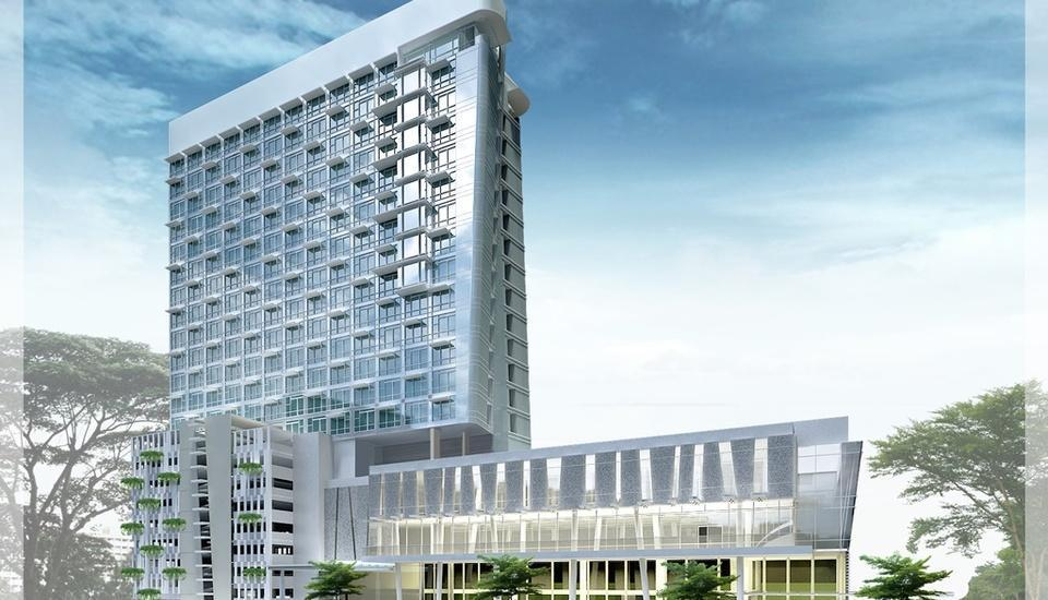 Hotel Santika Premiere Hayam Wuruk - Tampilan Luar Hotel