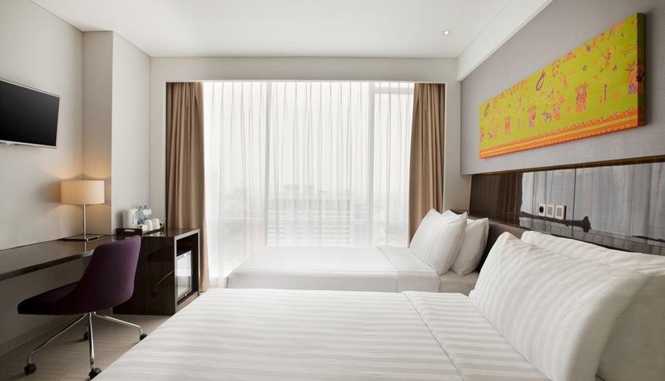 Hotel Santika Premiere Hayam Wuruk - Deluxe Room Twin Regular Plan