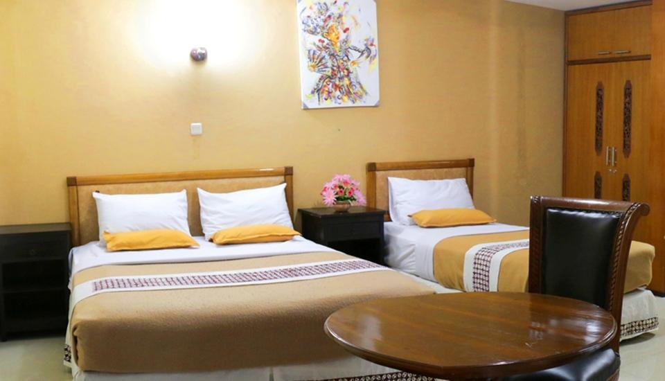 Hotel Mataram 2 Yogyakarta - Family Room 1 Double-Bed 1 Single-Bed Basic Deal