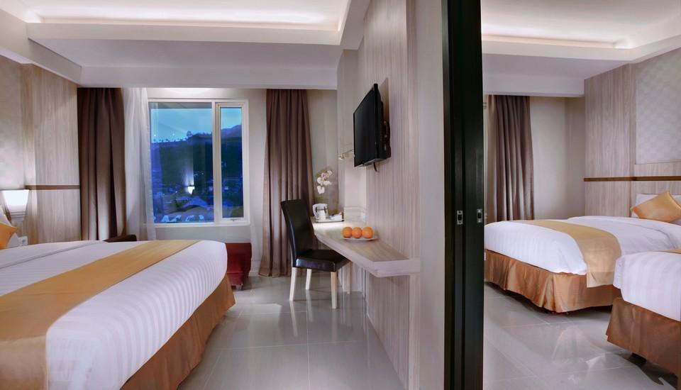 Aston Lampung City Hotel Bandar Lampung - Kamar terhubung