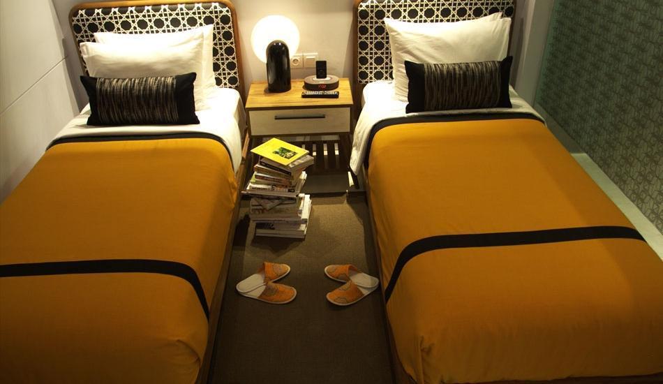 Kosenda Hotel Jakarta - Tempat tidur Twin