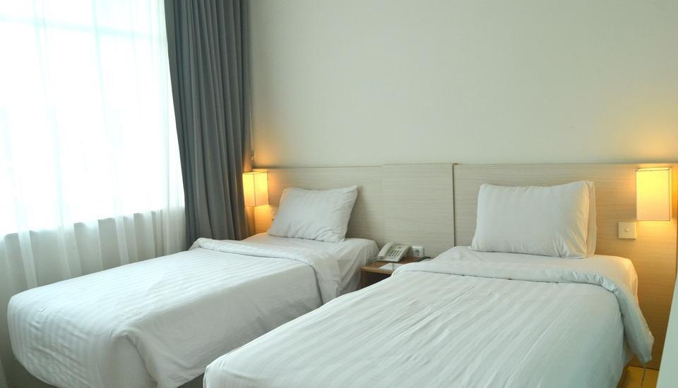 Hotel Fovere Bandara Semarang Semarang - Standard Twin Room Only Regular Plan