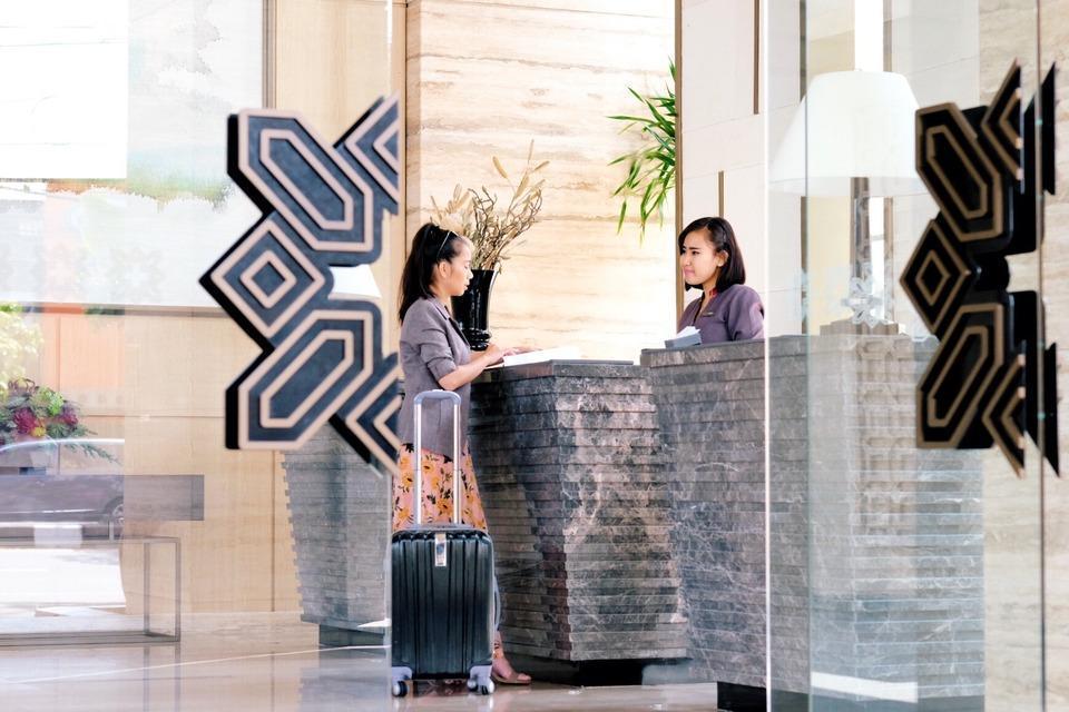 Grand Ambarrukmo Yogyakarta - Reception