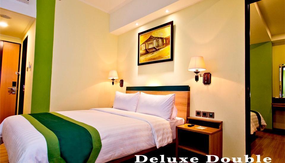 Green Batara Hotel Bandung - Deluxe Double Room
