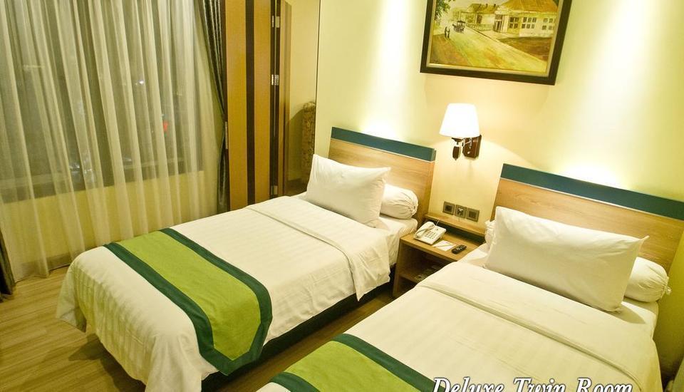 Green Batara Hotel Bandung - Deluxe Twin