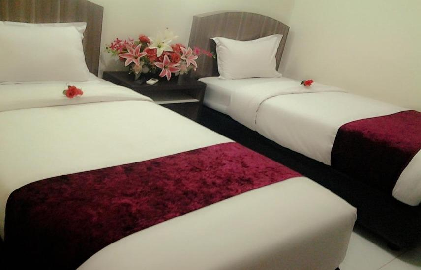 Hotel Permata Makassar Makassar - Standard Twin Room Only Regular Plan