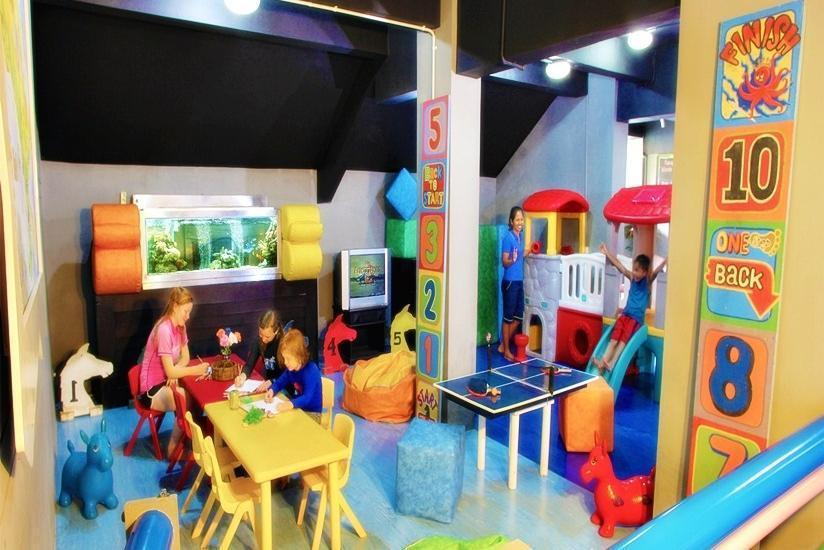 Prime Plaza Suites Sanur Bali - Kids Play Area