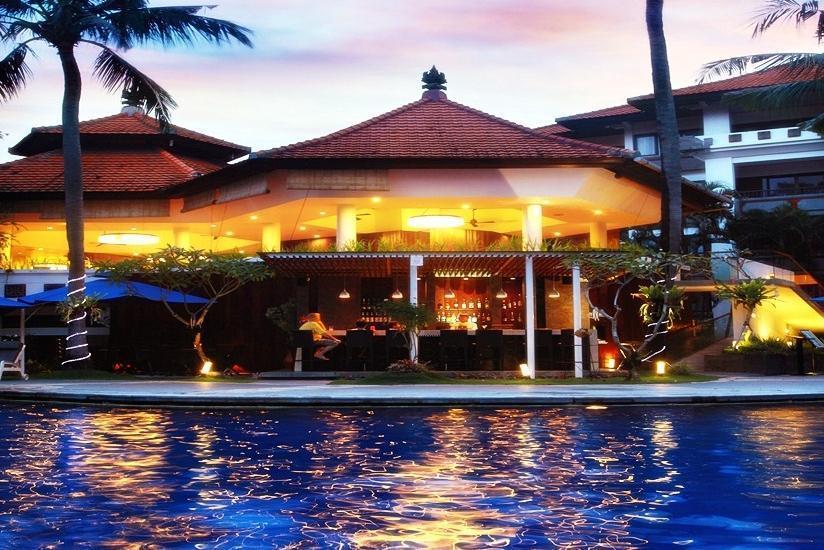 Sanur Paradise Plaza Suite Bali - Teras