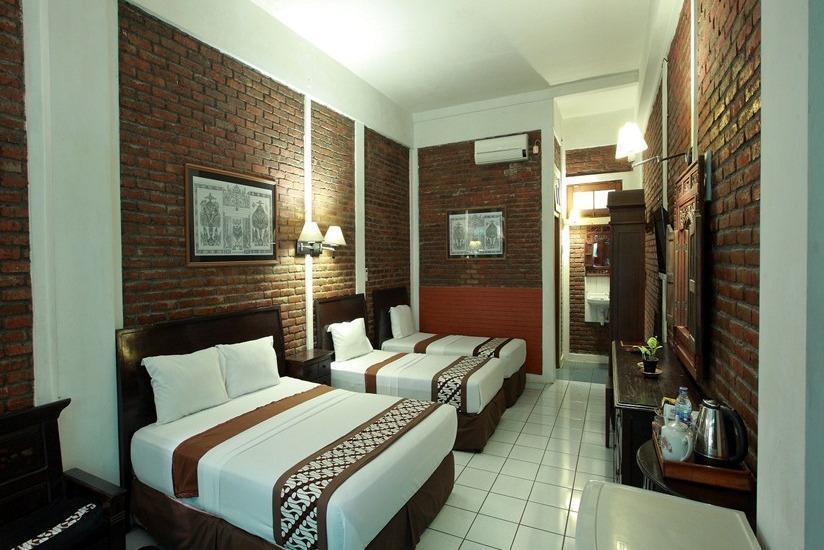 Paku Mas Hotel Yogyakarta - Kamar tamu