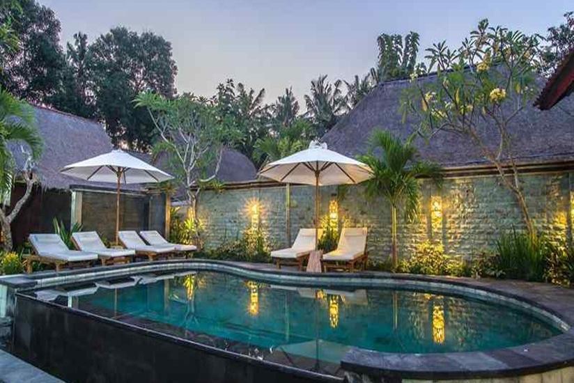 The Nichos Bungalow Bali - Kolam Renang