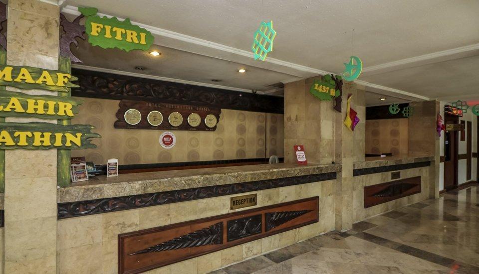 NIDA Rooms Purna MTQ Pekanbaru - Resepsionis