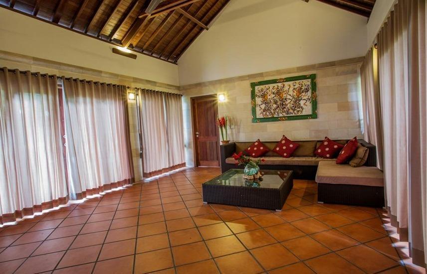 Ubud Luwih Villa Bali - Ruang tamu