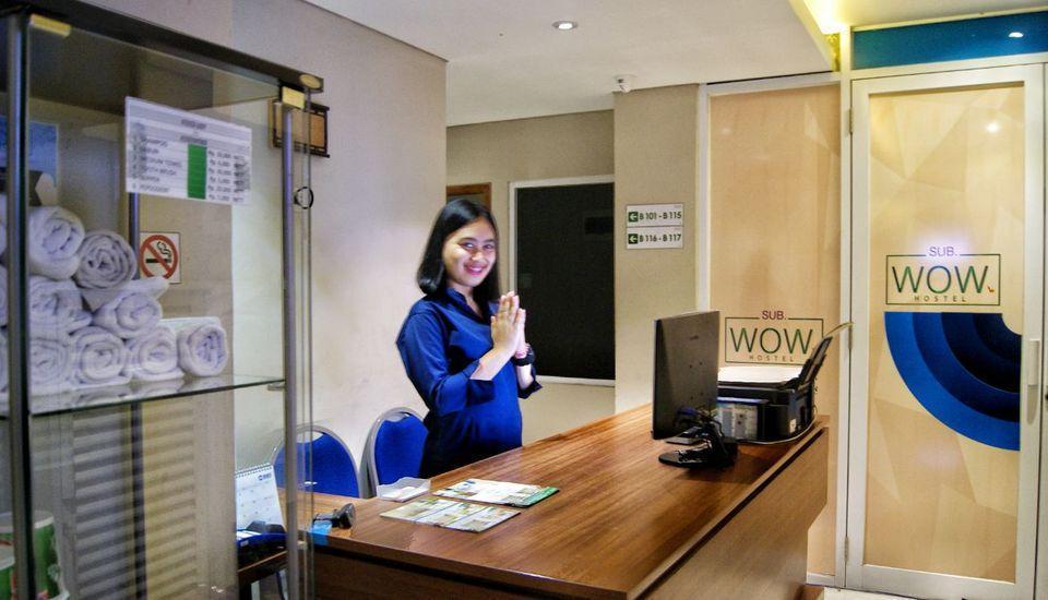 Subwow Hostel By Willson Hotel Bandung - RECEPTION