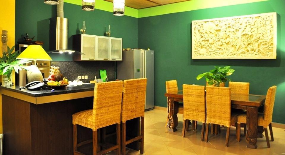 Green Chaka Villa Bali - Dapur