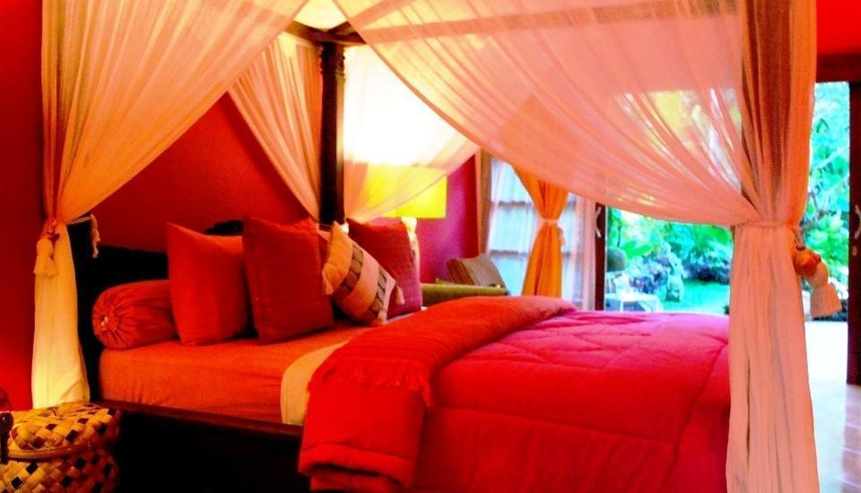 Green Chaka Villa Bali - Kamar Tamu