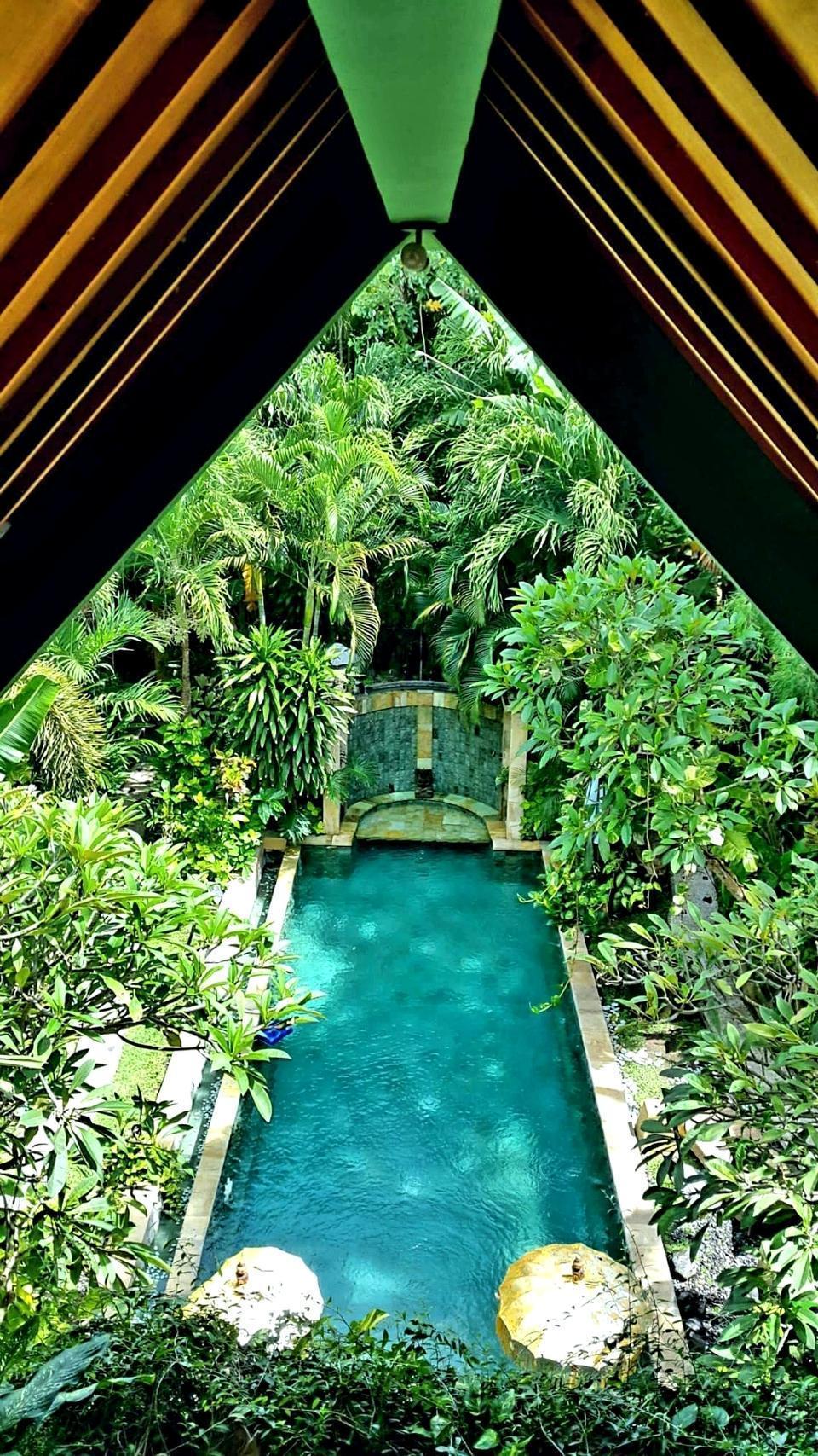 Green Chaka Villa Bali - Pool View