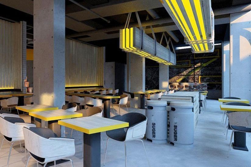 Yello Hotel Jemursari - Restoran