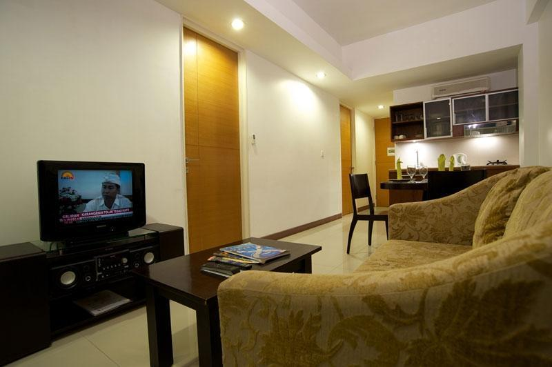 Sunset Residence Condotel Bali - Ruang Tamu - Two Bedroom