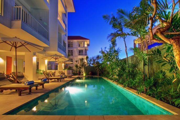 Sunset Residence Condotel Bali - Kolam Renang