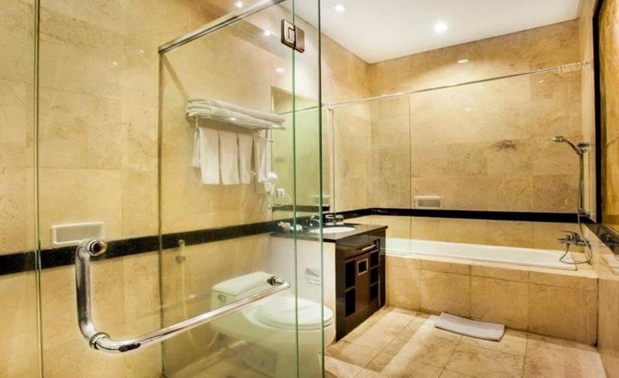 D'Batoe Hotel Bandung - Kamar mandi