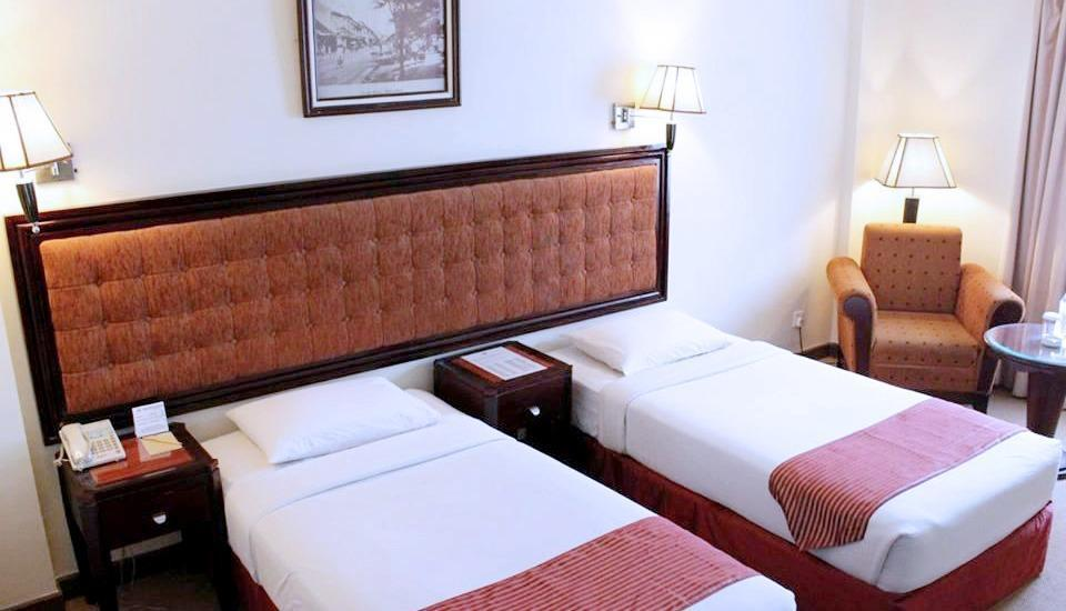 Harbourbay Amir Hotel Batam - Kamar Superior Twin Beds