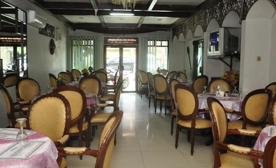 Hotel Andhika Samarinda Samarinda - Ruang makan