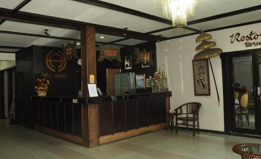 Hotel Andhika Samarinda Samarinda - Resepsionis