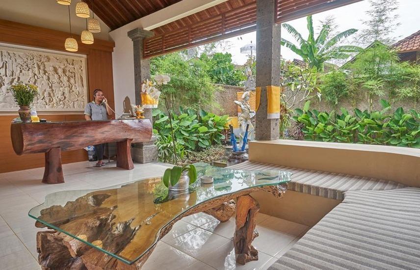 Desak Putu Putera Cottage Bali - Ruang tamu