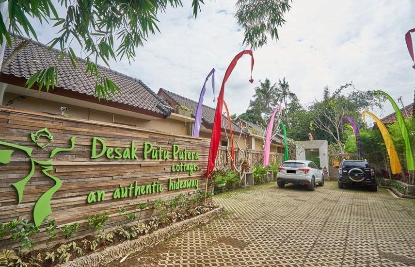 Desak Putu Putera Cottage Bali - area parkir