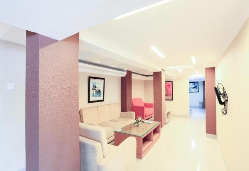 Seven Nite Inn Palembang - Ruang tamu