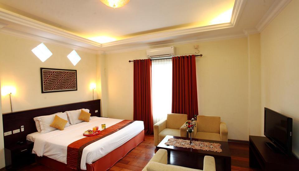 Hotel Aryuka Yogyakarta - merapi suite