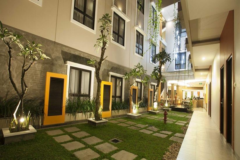 Hotel Jentra Malioboro - Taman