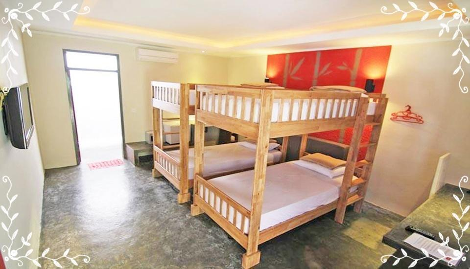 Kayun Hostel Bali - Quadruple Room Regular Plan